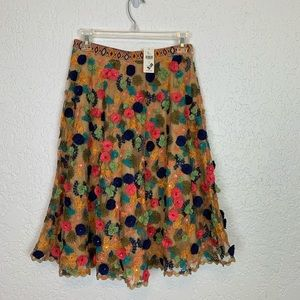 Anthropologie Bhanuni Jyoti skirt size 4 NWT